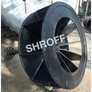 Rubber Lined Blower Impeller