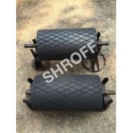 Diamond Groove Rubber Rollers